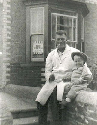 Ernest with young Ernest